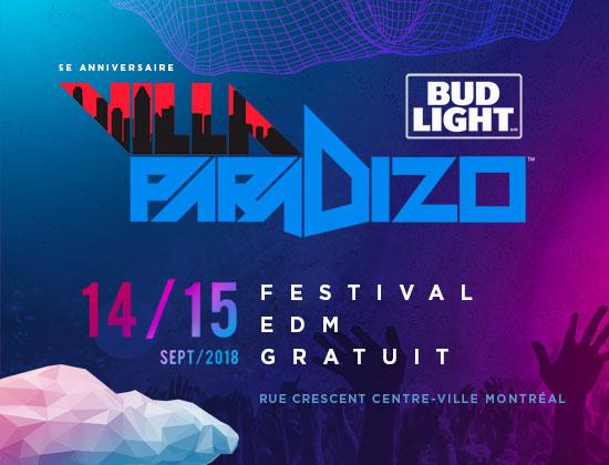 Villa Paradizo | Festival EDM Gratuit - Free EDM Festival